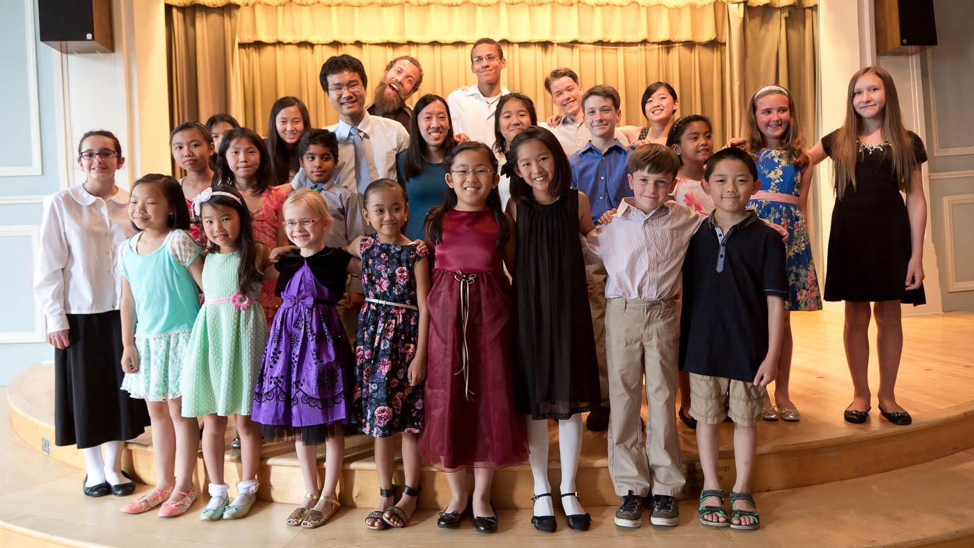 Akira and Julienne Ikegami - Recital group photo